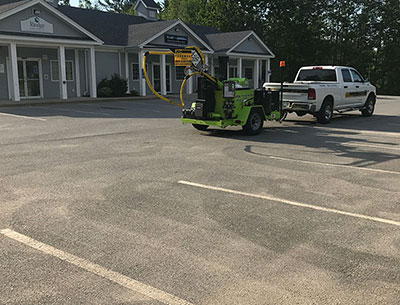 jdk commercial paving and striping services in NH